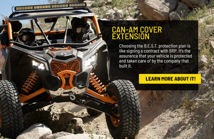 Can-Am Cover Extension
